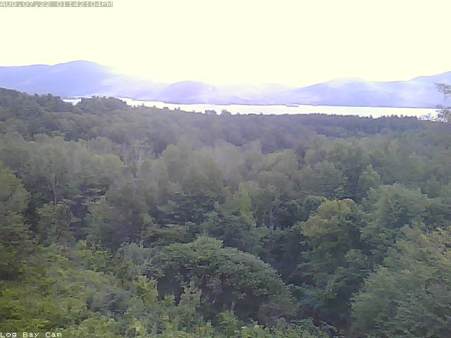 Lake George Bolton landing Webcam Image